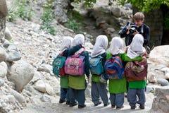 Filles de Balti dans Ladakh, Inde Photographie stock