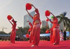 Filles de danse Image stock
