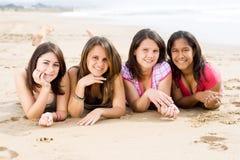 Filles de l'adolescence Photographie stock libre de droits