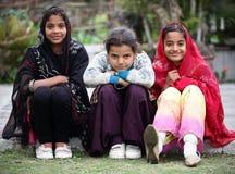 Filles de l'adolescence Image libre de droits