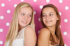 Filles de l'adolescence Photo stock