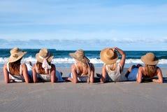 Filles de plage Image libre de droits