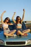 Filles de voyage Photographie stock libre de droits