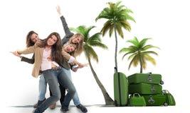 Filles des vacances Images libres de droits