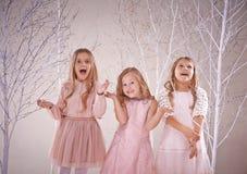 Filles féeriques Images libres de droits