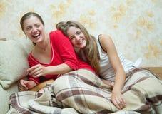 Filles heureuses Image libre de droits