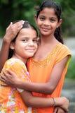 Filles heureuses Photos libres de droits