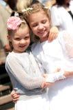 Filles heureuses Images libres de droits