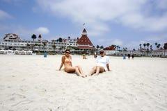 Filles, Hotel de Coronado Photos libres de droits