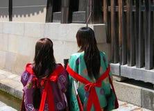 Filles japonaises photo libre de droits