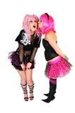 filles punkes Image libre de droits