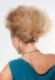 Filles 80s de coiffure Photos libres de droits
