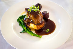 Fillet Of Beef Main Meal Stock Photography
