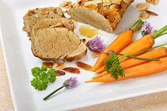 Fillet with carrots Stock Photos