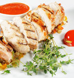 Fillet of Chicken Royalty Free Stock Photo