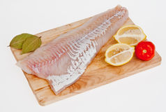 Fillet of a cod Atlantic Royalty Free Stock Photography