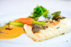 Fillet of cod Royalty Free Stock Photo