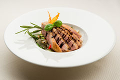 Fillet of duck breast Royalty Free Stock Images