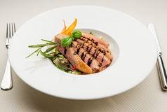 Fillet of duck breast Royalty Free Stock Photo