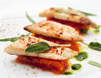 Fillet of Fish Stock Photography