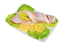 Fillet hake Stock Photos