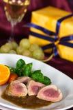 A Fillet Mignon, festive Table Stock Photos