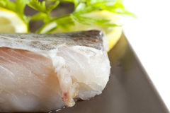 Fillet Of Cod Royalty Free Stock Photos