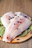 Fillet Of Pangasius Stock Image