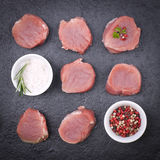 Fillet of pork Stock Photography