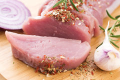 Fillet of pork Royalty Free Stock Photos