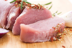 Fillet of pork Royalty Free Stock Images