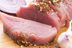 Fillet of pork Royalty Free Stock Image