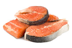 Fillet salmon Stock Images