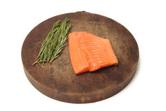 Fillet of Salmon Stock Photos