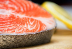 Fillet of salmon Royalty Free Stock Photos