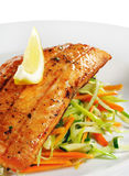 Fillet of Salmon Royalty Free Stock Image