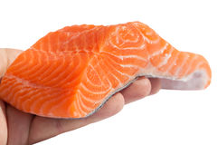 Fillet of salmon. Royalty Free Stock Images