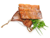 Fillet smoked fish Stock Image