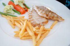 Fillet of sole Stock Image