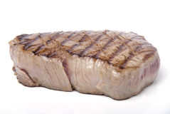 Fillet steak. A piece of lovely fillet steak shot against a white background Stock Image