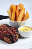 Fillet steak on the bone Stock Photography