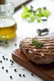 Fillet steak cooked Royalty Free Stock Photos