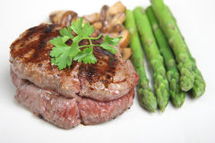 Fillet Steak Dinner Royalty Free Stock Photos