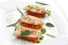Filleted Fish Stock Image