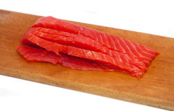 Fillets of red mullet Stock Images