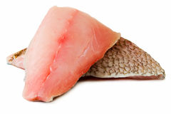 Fillets of red mullet Royalty Free Stock Photography
