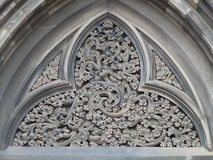 Filligree Pattern in Stone Royalty Free Stock Image