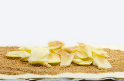 Filling for apple strudel Royalty Free Stock Photography