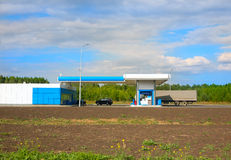 Filling car station Royalty Free Stock Photography