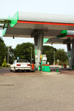 Filling station. Station on which it is possible to carry out car refueling Stock Images
